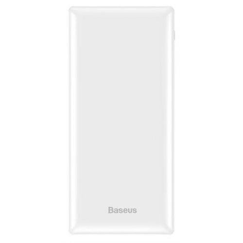 Зовнішній акумулятор Baseus Mini JA Power Bank 30000mAh White