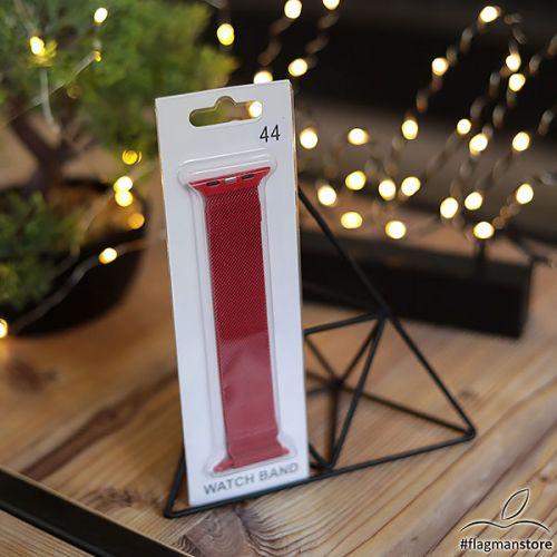 Ремiнець Milanese Loop 38/40mm Red