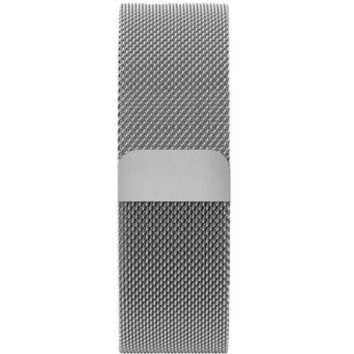 Ремiнець Milanese Loop 38/40mm Silver