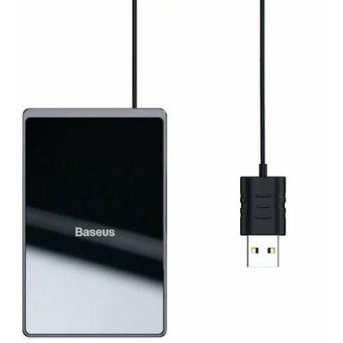 Бездротовий зарядний пристрій Baseus Card Ultra-thin Black