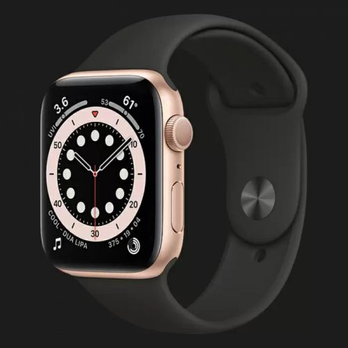 Apple Watch Series SE 40mm Gold with Black Sport Band
