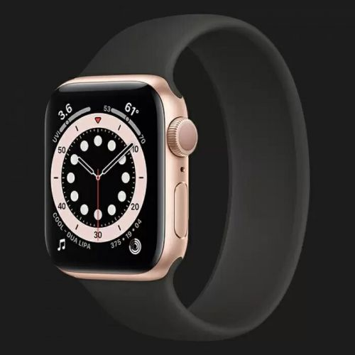 Apple Watch Series 6 40mm Gold with Black Solo Loop