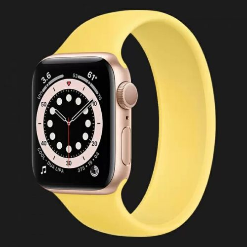 Apple Watch Series 6 44mm Gold with Ginger Solo Loop