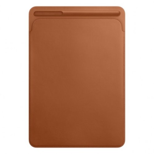 Leather Sleeve for 12.9‑inch iPad Pro - Saddle Brown