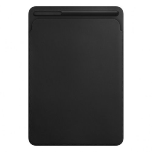 Leather Sleeve for 12.9‑inch iPad Pro - Black