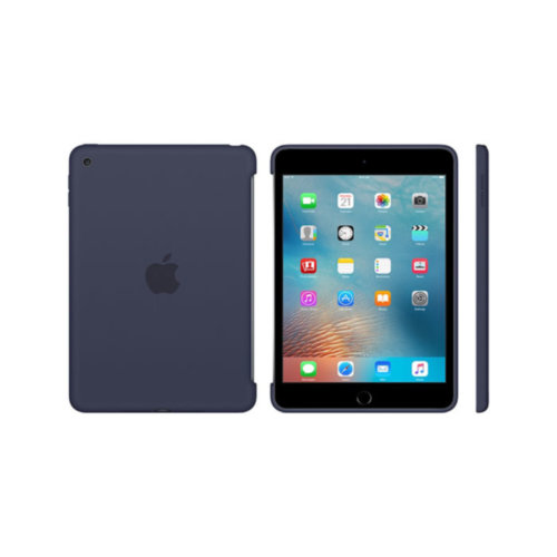 Apple iPad mini 4 Silicone Case (Midnight Blue)