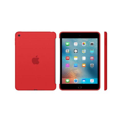 Apple iPad mini 4 Silicone Case (Red)