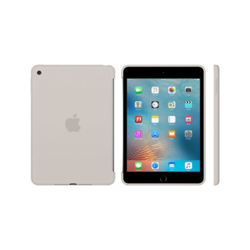 Apple iPad mini 4 Silicone Case (Stone)