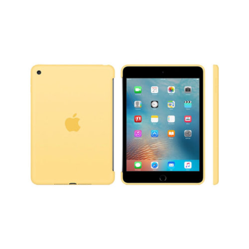 Apple iPad mini 4 Silicone Case (Yellow)