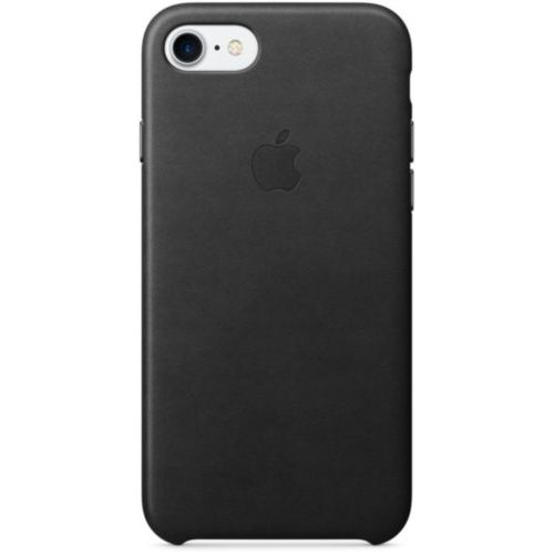 Apple iPhone 7/8 Leather Case Black (MMY52)