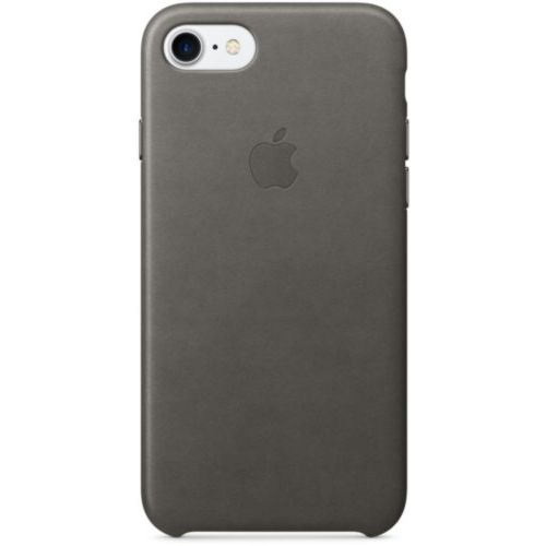 Apple iPhone 7/8 Leather Case Storm Gray (MMY12)