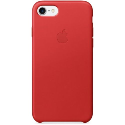Apple iPhone 7/8 Leather Case (PRODUCT)RED (MMY62)