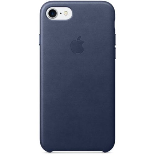 Apple iPhone 7/8 Leather Case Midnight Blue (MMY32)