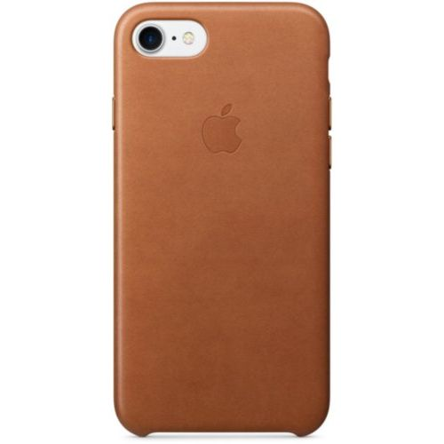 Apple iPhone 7 /8 Leather Case Saddle Brown (MMY22)