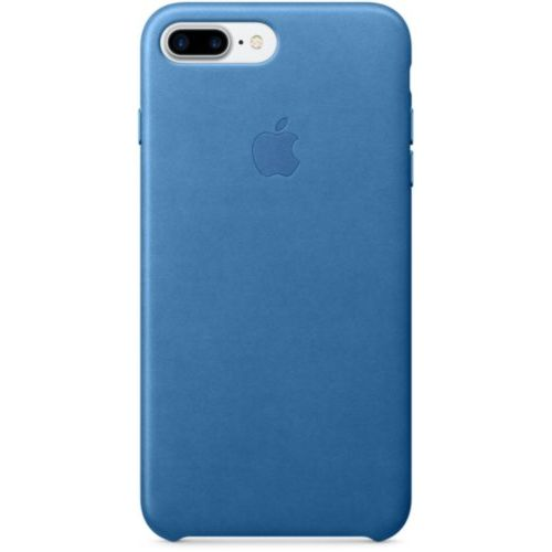 Apple iPhone 7 /8 Plus Leather Case Sea Blue (MMYH2)