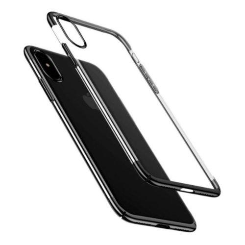 Чохол Baseus для iPhone X Glitter Series (Black)