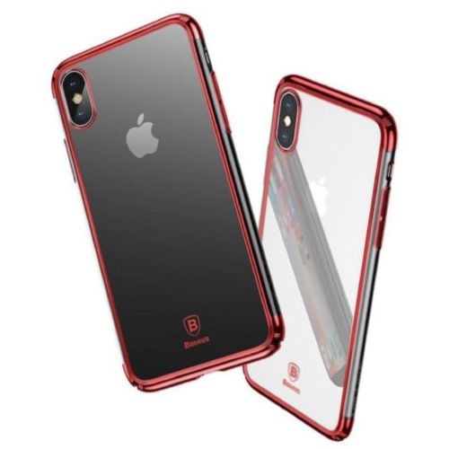 Чохол Baseus для iPhone X Minju Series (Red)