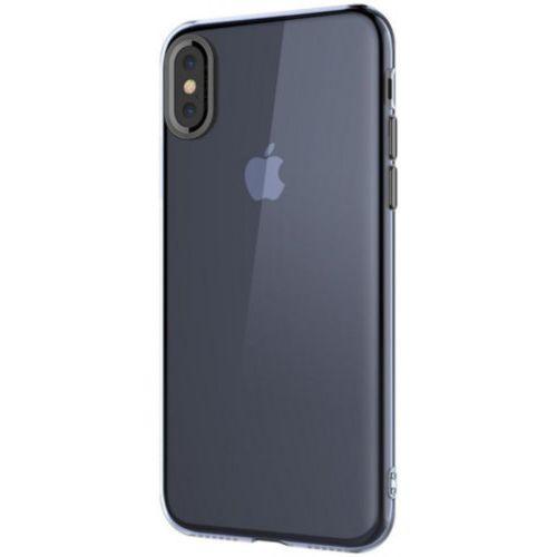 Чохол Baseus для iPhone X Simple With-Pluggy Series (Blue)