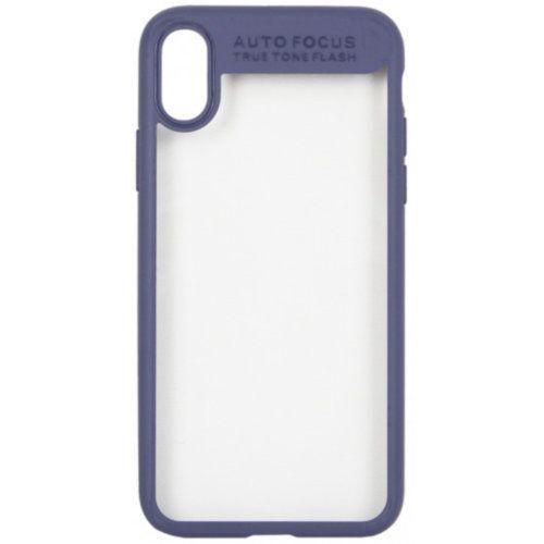 Чохол Baseus для iPhone X Suthin Series (Dark Blue)