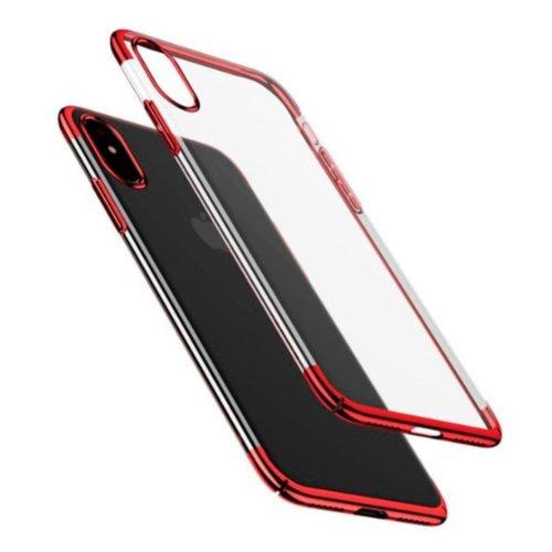 Чохол Baseus для iPhone X Glitter Series (Red)