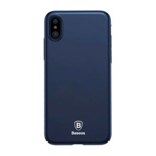 Чохол Baseus для iPhone X Thin Series (Dark Blue)