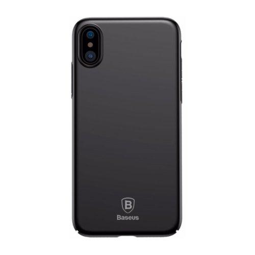 Чохол Baseus для iPhone X Thin Series (Black)