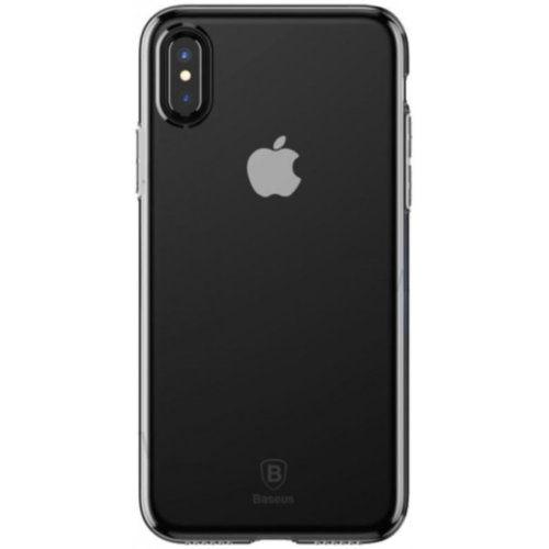 Чохол Baseus для iPhone X Simple With-Pluggy Series (Transparent)