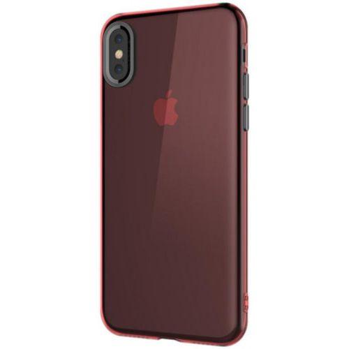 Чохол Baseus для iPhone X Simple With-Pluggy Series (Red)