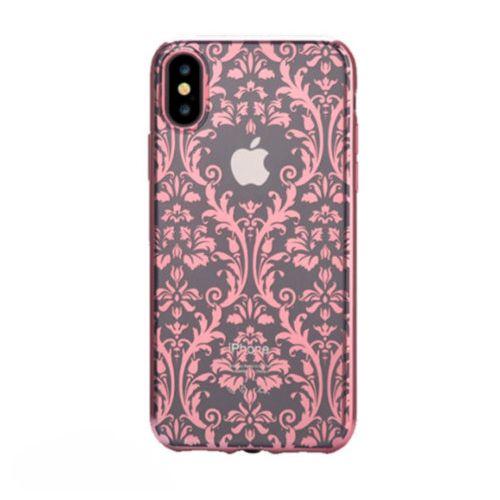 Чохол Devia для iPhone X Crystal Baroque Series (Rose Gold)