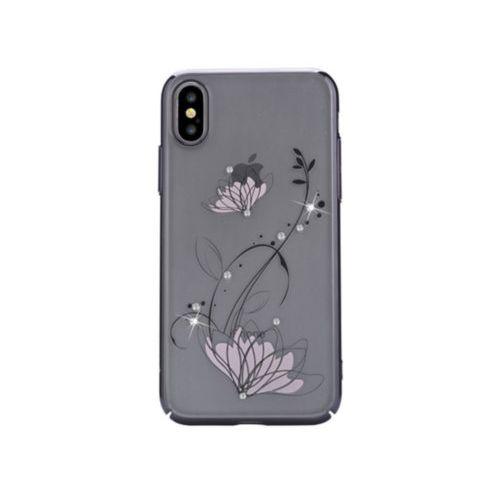 Чохол Devia для iPhone X Crystal Lotus Series (Black)