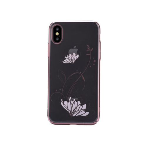 Чохол Devia для iPhone X Crystal Lotus Series (Rose Gold)