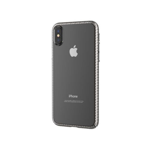 Чохол Devia для iPhone X Luxurious Glimmer Series (Silver)