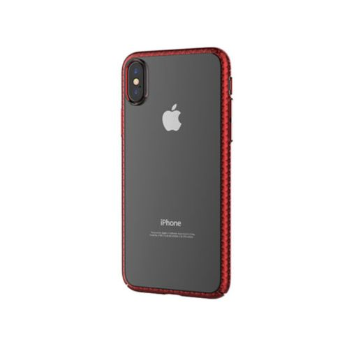 Чохол Devia для iPhone X Luxurious Glimmer Series (Red)