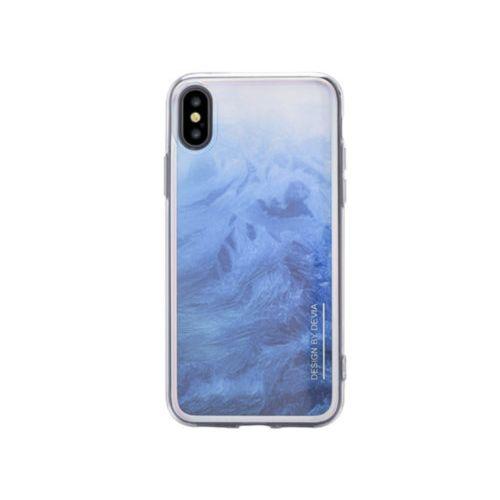 Чохол Devia для iPhone X Landscape (Blue)