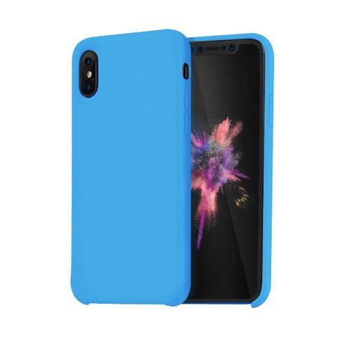 Чохол HOCO для iPhone X Pure Series (Blue)