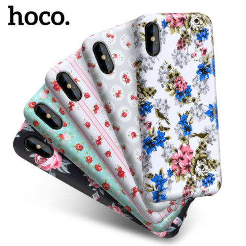Чохол HOCO для iPhone X Flowery Series (Retro Rose)