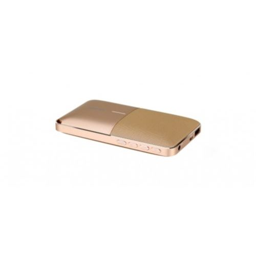 Акустика Momax ZONIC with PowerBank 6000 mAh (Gold)