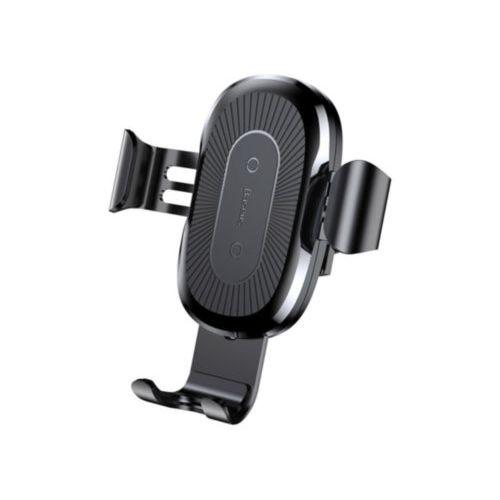 Автотримач Baseus Heukji Car Mount Wireless Charger (Black)