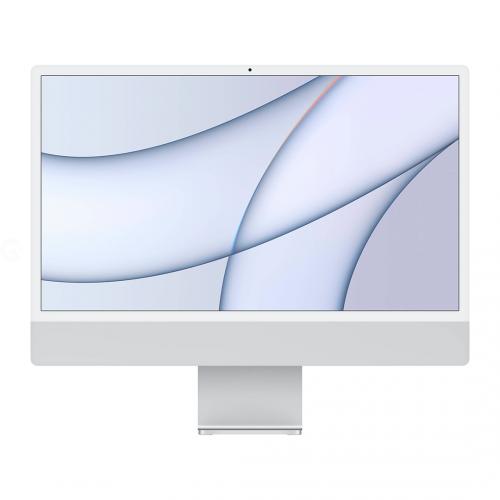 Apple iMac 24 with Retina 4.5K, 256GB, 8 CPU / 8 GPU Silver (MGPC3)