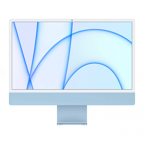Apple iMac 24 with Retina 4.5K, 256GB, 8 CPU / 7 GPU (Blue) (MJV93)
