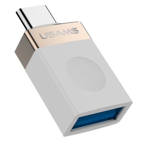 Адаптер Usams USB-C to USB3.1 (Gold)