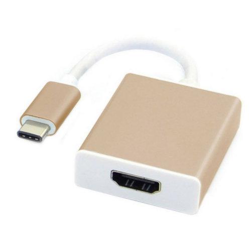 Адаптер USB-C to HDMI (Gold)