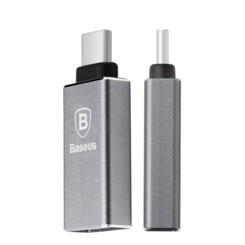 Адаптер Baseus USB-C to USB2.0 (Black)