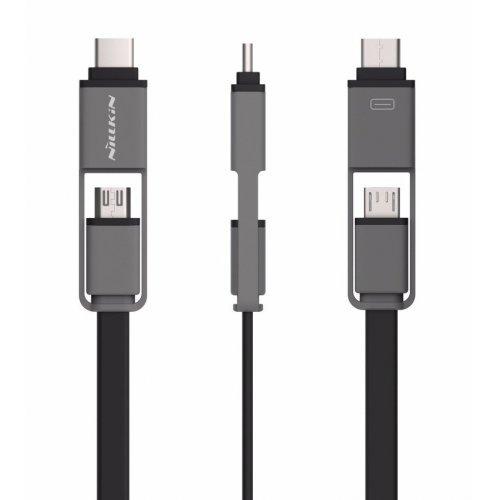 Кабель Nillkin USB-C/Micro USB 1.2m (Black)