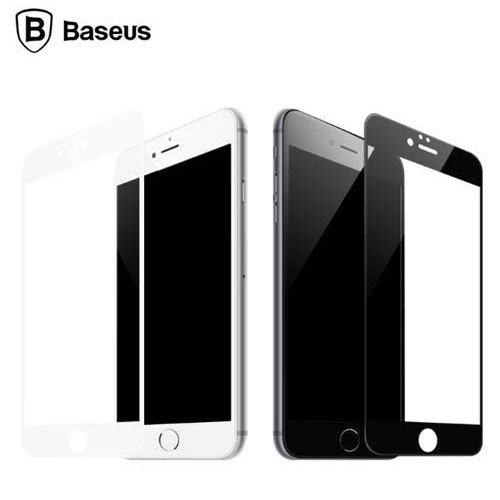 Захисне скло Baseus для iPhone 6/6S Pet Soft 3D matte 0.23mm (Black)