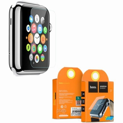 Захисне скло Hoco для Apple Watch 42mm Rull Rim 0.1mm