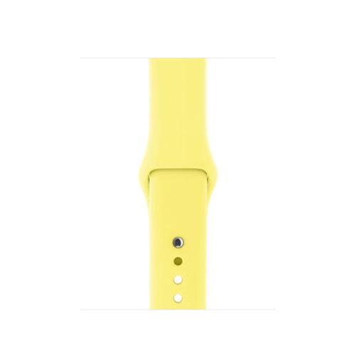 Ремінець для Apple Watch 38mm Sport Series 1:1 Original (Yellow)