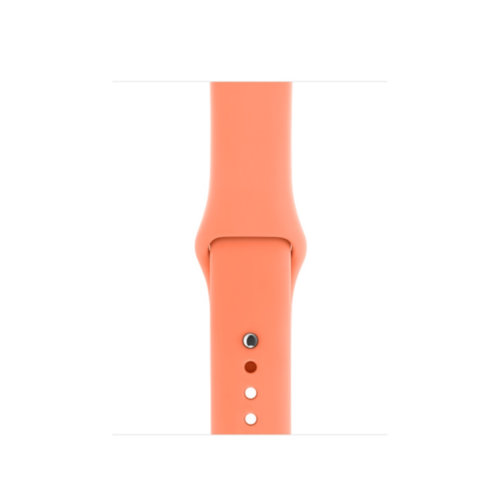 Ремінець для Apple Watch 38mm Sport Series 1:1 Original (Apricot)