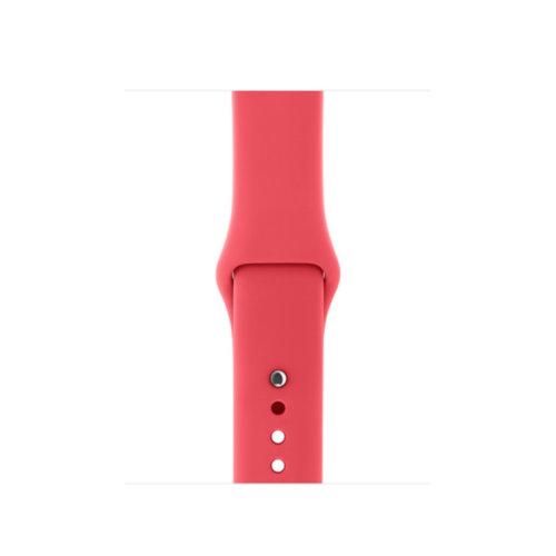 Ремінець для Apple Watch 38mm Sport Series 1:1 Original (Rose Red)