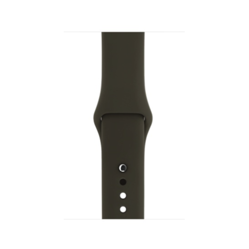 Ремінець для Apple Watch 38mm Sport Series 1:1 Original (Dark Olive)